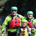 The Sutherland's went rafting