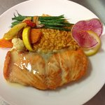 Pan Seared Salmon Buerre Blanc