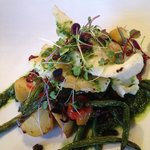 Pan fried Blue Cod Fish