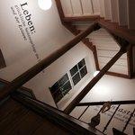 Le scale dell'albergo
