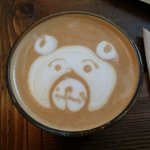 A bear was created for my Honey Latte. Kudos to Ben, and success on competing in the National Ch