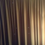 Holes in the curtains