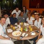 Almoço com os juízes latino americanos
