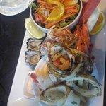 Seafood Plate Trevi Fountain