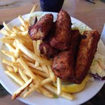 Fish ms Chips--- yummm!!
