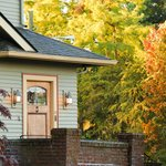 Greenlake Guest House Exterior in Fall