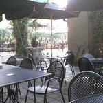 Selena's Outdoor seating available