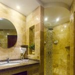 Recently renovated granite bathrooms