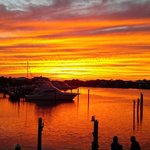 Sunset view from Louisiana Lagniappe