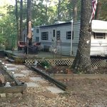 One of our RV Park sites set up