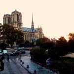Waking up to the sound of Notre Dame bells