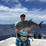 Catch and release GT!! We had so much fun. The crew really looked after us. Spectacular boat, he