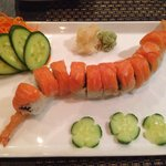 Custom salmon roll