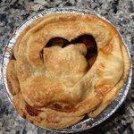Petaluma Pie Company mini peach pie