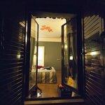 Balcony into room