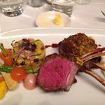 My lamb rack, amazing!