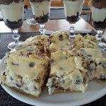 Oreo Cheesecake and Cheesecake with chocolate chunks