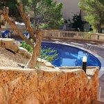 apart zwembad bij de appartementen