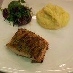 Parmasan crusted salmon