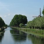Canal from Bruges to Damme