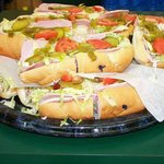 Hoagie tray - from their catering menu