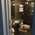 Salle de bain en ardoise intégrale