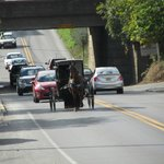 Amish en la 340