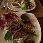 Beef salade