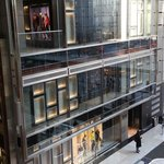 The Hugo Boss Store in NY's Time Warner Centre.