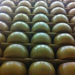 """Parmigiano Reggiano """"cathedrals"""""""