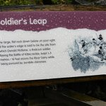 The history of the Soldier's Leap.