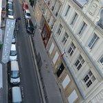 Vista dalla camera n. 54, piano 5°