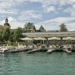 Das Falkensteiner Schlosshotel Velden mit dem Restaurant See Spitz