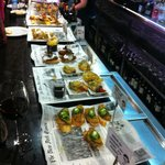 Selection of pintxos