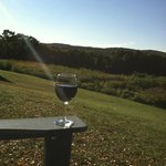 Wine with a view!