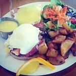 Lobster and Ham Eggs Benedict