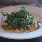Squash Risotto with rocket