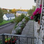 View from front door, pathway to downtown Kenmare