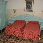 La stanza dell'Hotel dove ho pernottato
