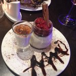Raspberry and white chocolate panna cotta, pure food heaven!