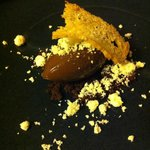 60% macondo chocolate and fried rapeseed oil toast