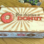 You deserve a donut
