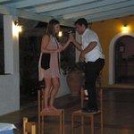 dancing on Greek evening Fois