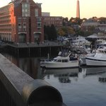 Situated right on Tudor Wharf