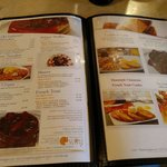 Pictures on the menu!