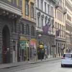 Rua onde fica o hotel
