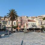 Samos square