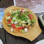 Fresh and Colorful Salad