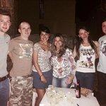 Amigos que conocí en Cabana Copa!