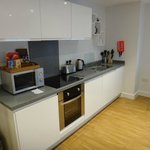Fully equiped Kitchen area